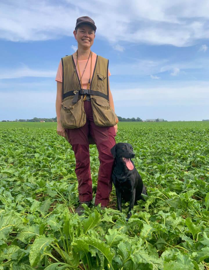 Beechbrook Daisy Duck med hundefører